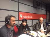 """Participando en directo en """"La Ruta Slow"""" de Radio Vitoria, 22 de enero de 2015"""