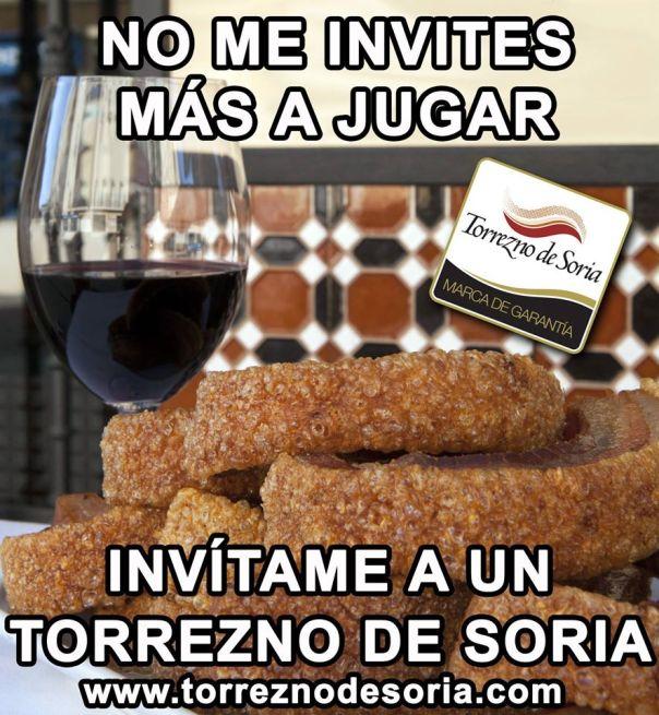 Meme del Torrrezno de Soria en Facebook